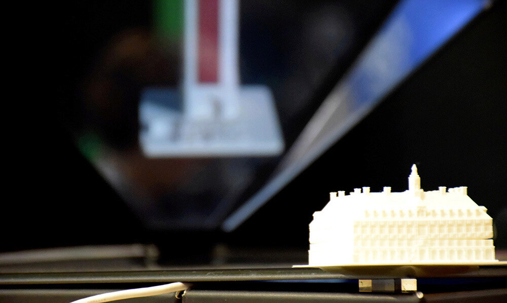 3D printing of Lille former Stock Exchange