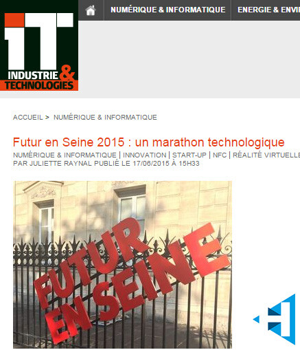 Article Holusion futur en seine